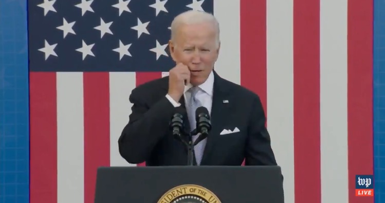 """Biden Tells Debunked Story About Amtrak Worker For the FOURTH Time, Claims he """"Commuted Every Single Day for 36 Years as Vice President"""" (VIDEO)"""
