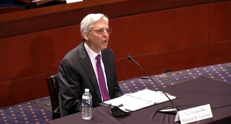 """AG Garland Says He's """"Not Familiar"""" with Loudoun County Sexual Assault Scandal (VIDEO)"""