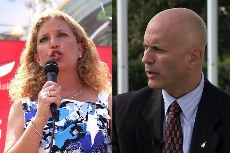 photo image EXCLUSIVE=> Tim Canova: Wasserman Schultz, Corrupt Dems Cling to Office to Avoid Jail