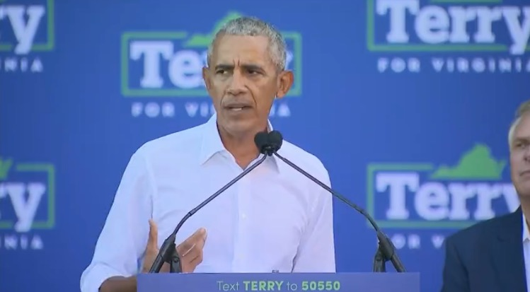 Barack Obama Attacks Trump Supporters in Campaign Speech for Terry McAuliffe (VIDEO)