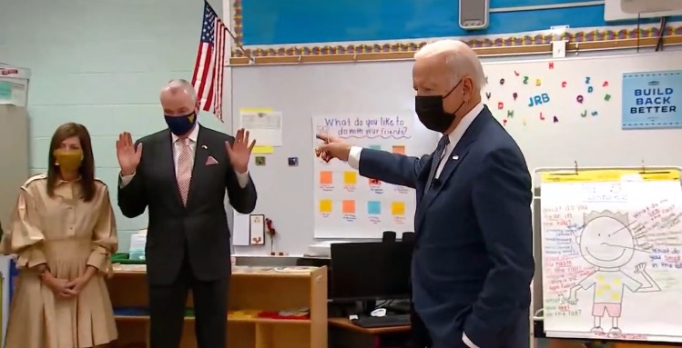 Joe Biden Tells Awkward Joke to Pre-Kindergarteners About New Jersey Governor's Wife, 'She Runs Him and Me and Everybody Else' (VIDEO)