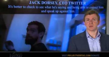 James O'Keefe Taunts Twitter CEO as Next Target in Undercover Sting 'Jack Dorsey This Message is For You' (VIDEO)