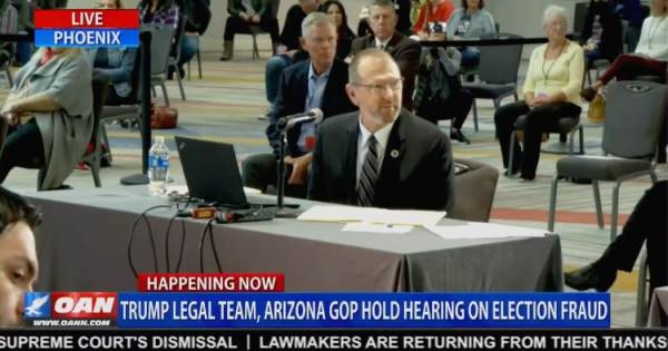 """Crowd Gasps After AZ Witness Reveals How Easy it is to Hack Dominion Voting Machines, """"Your Vote is Not as Secure as Your Venmo Account"""" (VIDEO)"""