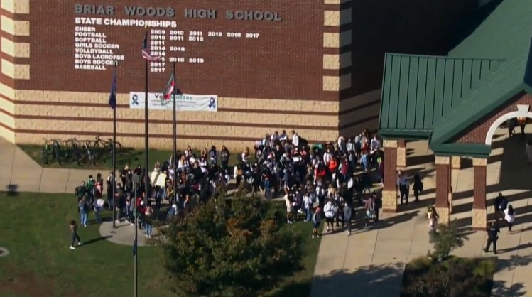 """""""Loudoun County Protects Rapists!"""" – LCPS Students Walk Out to Show Support For Recent Sexual Assault Victims (VIDEO)"""