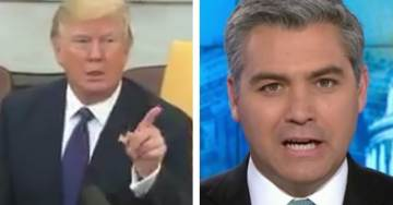 "POTUS Trump Tells CNN's Jim Acosta to get ""Out"" of the Oval Office After His Latest Outburst (VIDEO)"