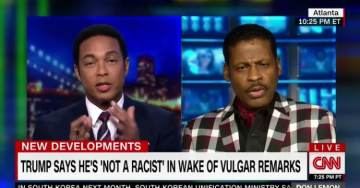 "CNN's Don Lemon Loses It After MLK's Nephew Says Trump is a ""Genius"" (VIDEO)"