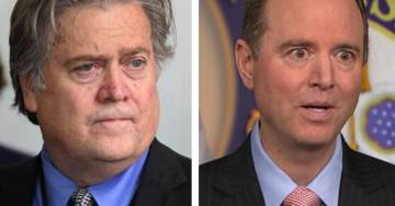Democrat Adam Schiff Threatens to Hold Steve Bannon in Contempt of Congress (VIDEO)