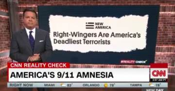 On Anniversary of 9-11, CNN Says 'Right-Wingers Are America's Deadliest Terrorists' (VIDEO)