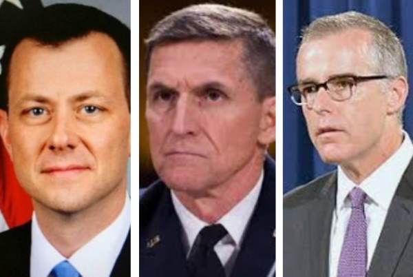 REPORT: Andrew McCabe Altered Peter Strzok's 302 Notes on General Flynn interview – Then Destroyed Evidence