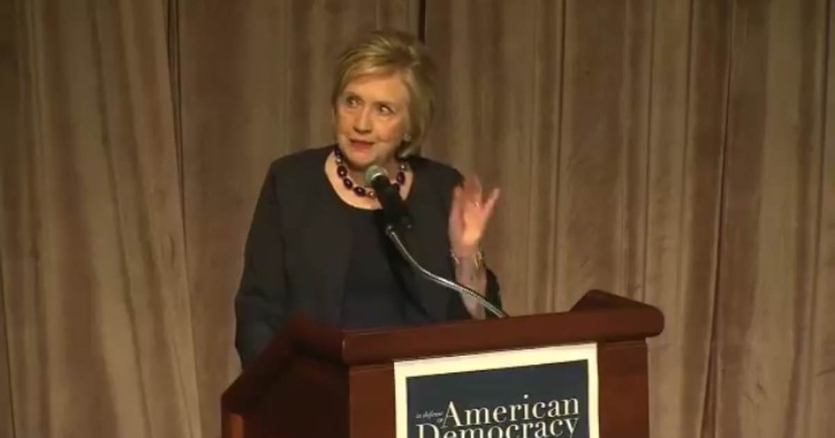 Hillary Clinton Suggests She Lost Wisconsin and Michigan to Trump in 2016 Because 'Millions of Voters Were Purged From the Rolls' (VIDEO)