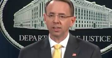 MUELLER INDICTMENT NOTHINGBURGER=> Rosenstein: Russian Operation DID NOT Change Election Outcome (VIDEO)