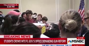 "MSNBC Crank Claims Governor Rick Scott ""Too Busy"" to Meet With Students – Later Admits Gov Scott Was Attending Shooting Victim's Funeral"