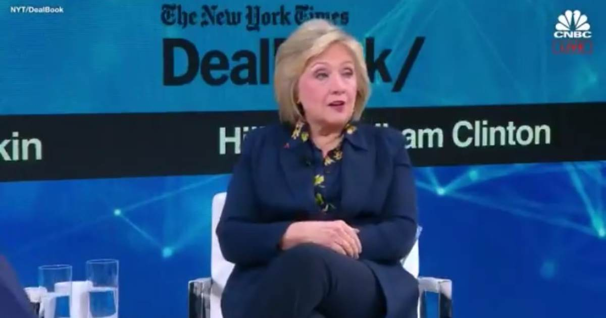 photo image What Did She Mean by This? Hillary Clinton Gives Bizarre Answer When Asked if She Will Run For President in 2020 (VIDEO)