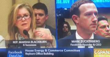 Rep. Marsha Blackburn Blasts Zuckerberg for Using Algorithms to Censor Conservatives (VIDEO)