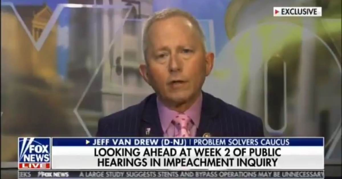 "HUGE! Dem Rep. Says He Will Vote NO on Impeachment, Reveals Other Dem Lawmakers ""Quietly, Privately"" Concerned About Schiff Show Trials (VIDEO)"