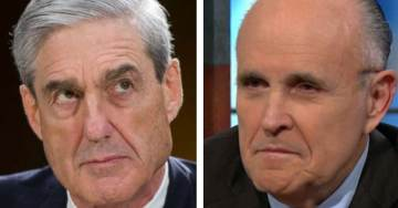 DEVELOPING=> Rudy Giuliani Meets Face-to-Face With Robert Mueller