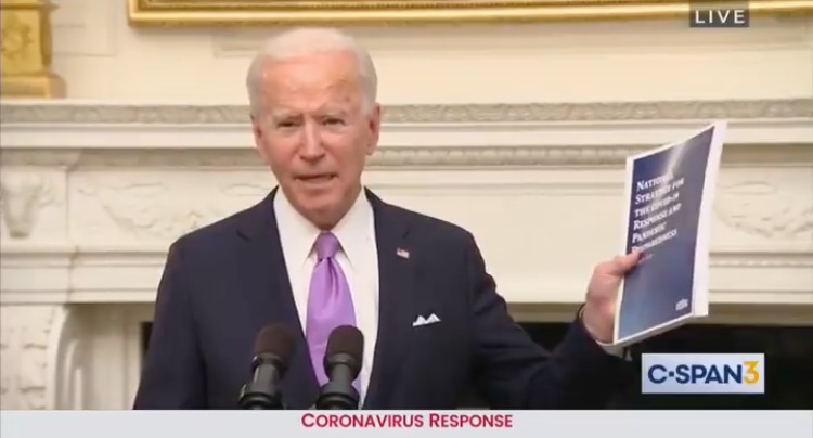 """Come On! Give Me a Break, Man!"" – Biden Struggles Through Covid Presser, Snubs Reporter… And It's Only His First Full Day in Office (VIDEO)"