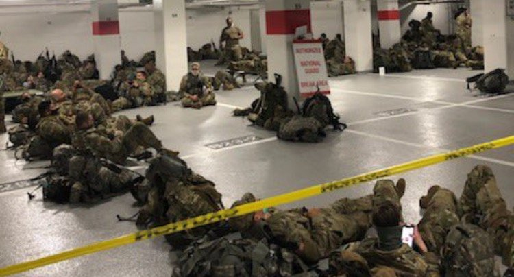 GOP Rep. Paul Gosar Calls for Investigation After Democrats Order 5,000 National Guard Members from US Capitol to Sleep in Cold DC Parking Garage in Dead of Winter
