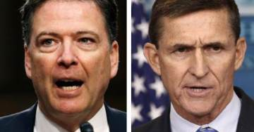 Comey Testimony Released: Fired FBI Director Contradicts His Previous Testimony on Gen. Michael Flynn