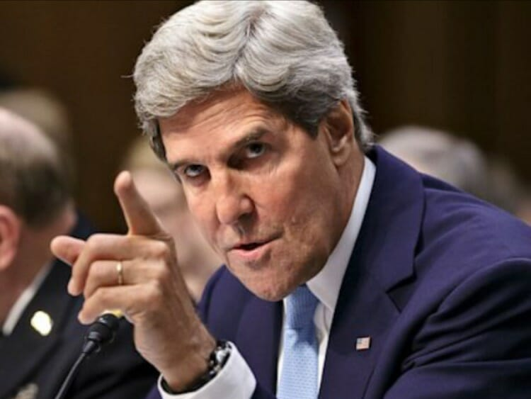 John Kerry Furious After Trump Exits Iran Nuke Deal 'Dragging the World Back to the Brink'