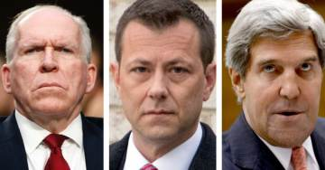 DEVELOPING: Brennan With Strzok and John Kerry Worked to Set Up Russian Espionage Traps For Minor Players in Trump Camp