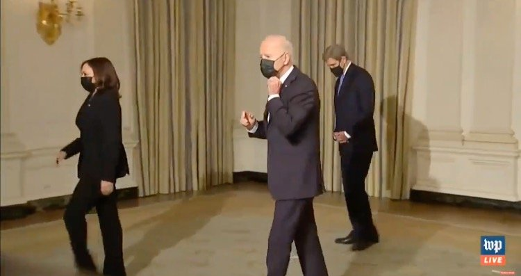 Biden Walks Away When Asked About the Sacrifices He's Asking American Workers to Make as He Kills Thousands of Jobs (VIDEO)