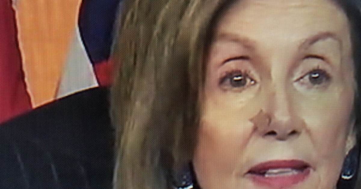 'What is Wrong with Pelosi's Nose?' – Pelosi Announces Impeachment Articles with Bandage on Her Nose