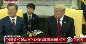 """POTUS Trump Smacks Down Reporter Asking About Rod Rosenstein """"What's Your Next Question, Please?"""" (VIDEO)"""
