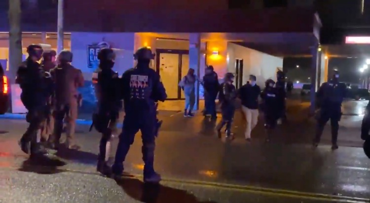 MEDIA BLACKOUT: Antifa Terrorists Armed with Hatchets Take Over Red Lion Hotel in Olympia, WA – Occupy 17 Rooms, Demand Shelter For Homeless