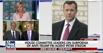 Chairman Bob Goodlatte Fires Warning Shot to Peter Strzok 'A Subpoena is Coming' (VIDEO)