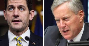 FIREWORKS! Rep Mark Meadows Gets in Speaker Paul Ryan's Face Over Immigration Bill (VIDEO)