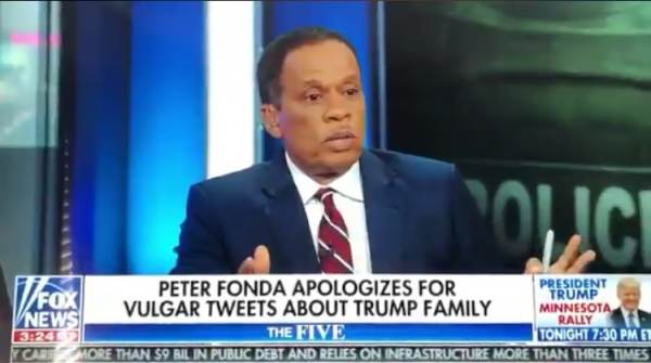 SICK! Fox News Host Juan Williams Defends Peter Fonda's Threat to Kidnap Barron Trump and Lock Him in Cage With Pedophiles (VIDEO)