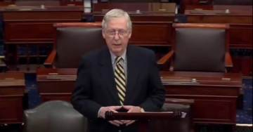 'This Strange Gambit Achieved Absolutely Nothing' – McConnell Excoriates Pelosi Days Before Impeachment Trial Begins (VIDEO)