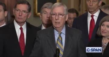 BREAKING: McConnell Says Trump Impeachment Trial Likely to Start Next Tuesday (VIDEO)