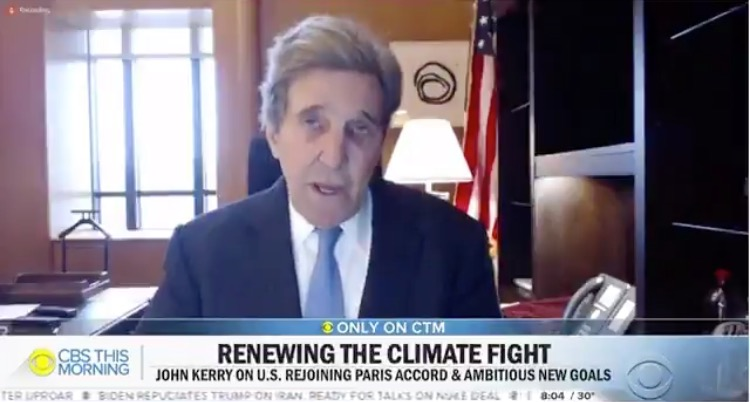 John Kerry Blames Frigid Temperatures and Record Cold on Global Warming, Says We have 9 Years Left to Save the Planet (VIDEO)