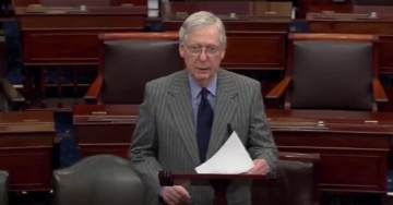 McConnell Rips House Democrats, Makes Case For Trump Acquittal Ahead of Impeachment Trial (VIDEO)