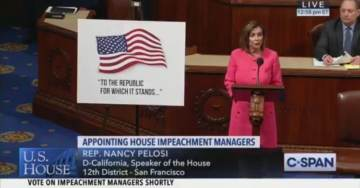 Pelosi Caught Lying From the House Floor About Transcript of President Trump's Phone Call to Zelensky (VIDEO)