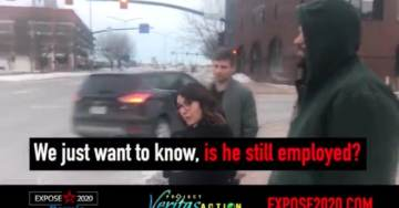 "Bernie's Iowa State Director Flees the Scene as Project Veritas Confronts Her on Employment Status of ""Anarcho-Communist"" Field Organizer Kyle Jurek (VIDEO)"