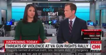 Video Montage Shows Fake News Media Hyping Fears That 'Swarms of White Nationalists' Would Cause Violence at Virginia Pro-Gun Rally