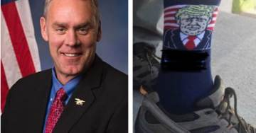 Interior Secretary Zinke to Step Down After Dems Bury Him in Legal Fees and Investigations Over His Trump Socks, Real Estate Deals