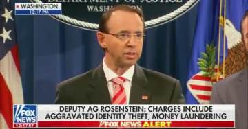 "Rosenstein Confirms DNC Server Was Not Hacked – Emails Were Obtained Through ""Spear Phishing"" Scam"