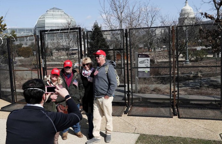 Fake News ABC Desperately Tries to Drum Up Controversy After 4 Trump Supporters Show Up to 'Planned March 4th Insurrection' at US Capitol