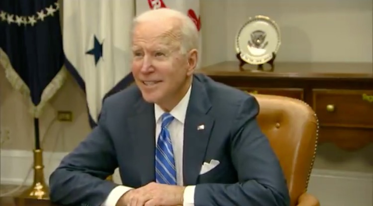 Joe Biden Joins Virtual Call to Congratulate NASA on Mars Rover Landing and it Goes Downhill After He Veers Off Script (VIDEO)
