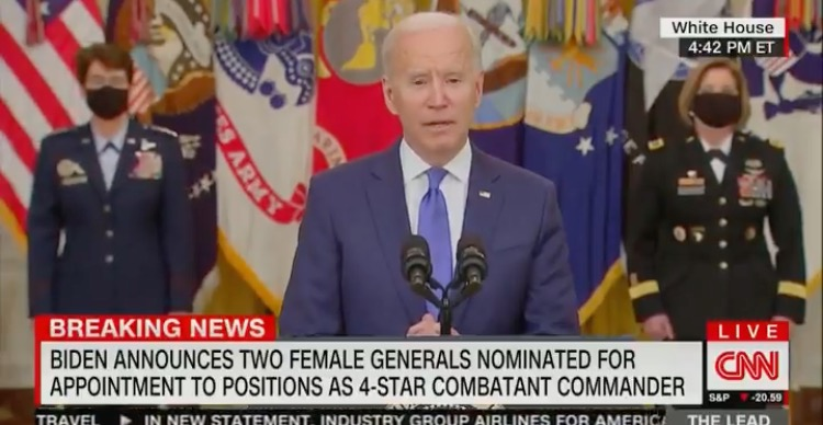 """""""The Guy That Runs That Outfit Over There"""" – Joe Biden Forgets the Name of the Pentagon and Name of His Secretary of Defense  IMG_9086-1"""
