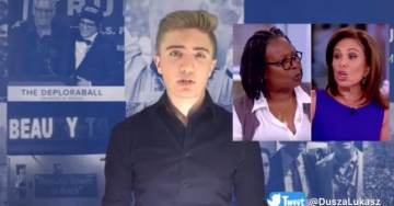 Lukasz Dusza For The Gateway Pundit Wrap: Whoopi Goldberg and Judge Jeanine Pirro Heated Argument (VIDEO)
