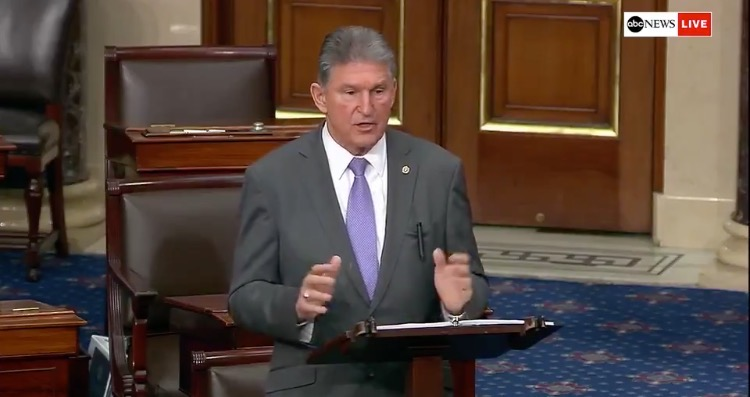 """""""It's Bullsh*t"""" – Manchin Dismisses Report Published by Far-Left 'Reporter' David Corn on Party Switch"""