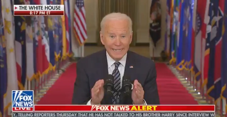 """He Lied"", ""The Man Is Not Well"", ""I Don't Listen to Idiots"" – Americans React to Joe Biden's Prepared COVID Speech Last Night"