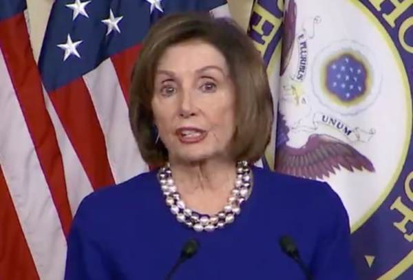 "Pelosi Accuses Trump of Engaging in ""Political Interference"" For Tweeting About Roger Stone's Excessive Sentencing, 'DOJ Should be Investigated'"
