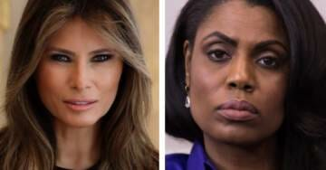First Lady Spox Responds to Omarosa's Claims Melania Can't Wait to Divorce Donald Trump