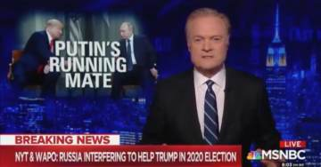 MSNBC's Lawrence O'Donnell Goes on Most Insane Rant Ever: 'Trump is a Russian Operative,' Nomination of Grenell Came at Putin's Direction (VIDEO)